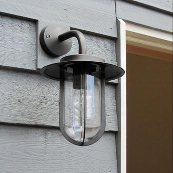 Applique d exterieur montparnasse bronze ip44 l20 5cm h33cm astro lighting normal