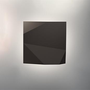Applique d exterieur origami 4500 marron ip65 led 2700k 756lm l30cm h30cm vibia normal