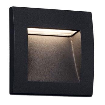 Applique d exterieur sedna aluminium ip65 l9cm h9cm faro normal