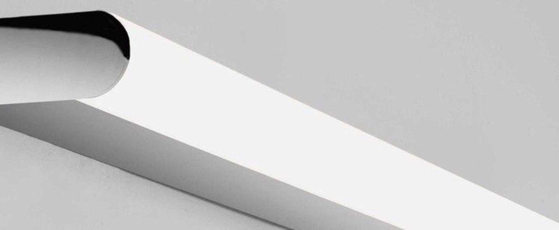 Applique de salle de bain artemis 600 led chrome poli ip44 led 3000k 604lm l3 3cm h60cm astro lighting normal
