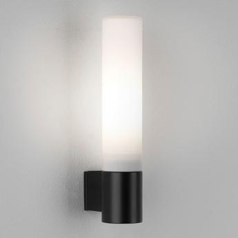 Applique de salle de bain bari noir mat ip44 l4cm h20cm astro lighting normal