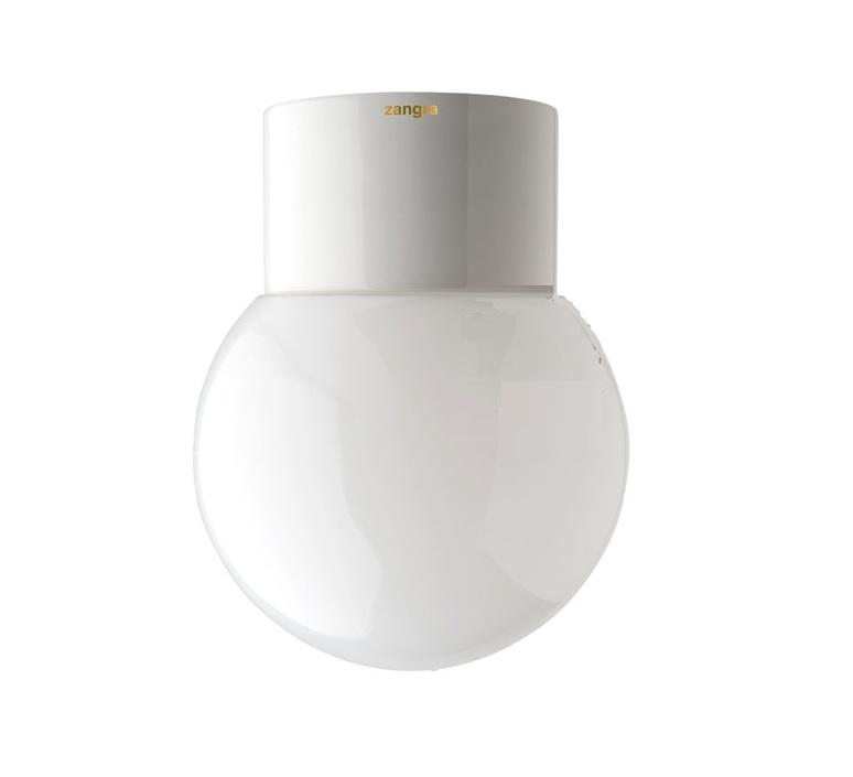 Applique de salle de bain IP54 Glass 005 blanc ˜12 5cm