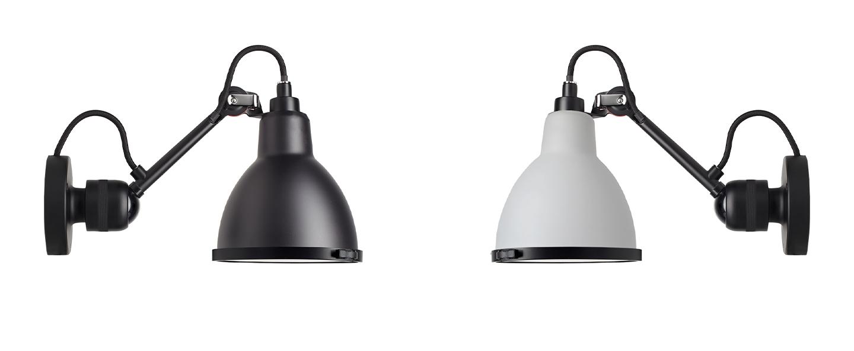 Applique de salle de bain lampe gras n 304 ip64 clii blanc l14cm h17 5cm dcw editions normal