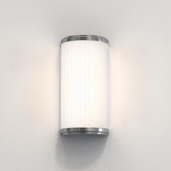 Applique de salle de bain monza classic 250 chrome poli ip44 l12 5cm h25cm astro normal