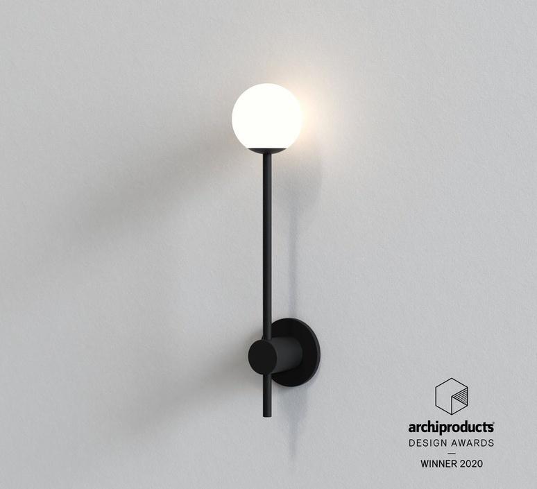 Orb single studio astro applique de salle de bain bathroomwall light  astro 1424004  design signed nedgis 116875 product