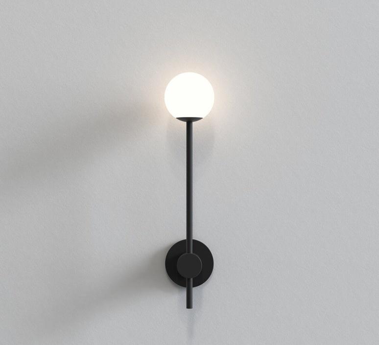 Orb single studio astro applique de salle de bain bathroomwall light  astro 1424004  design signed nedgis 116876 product