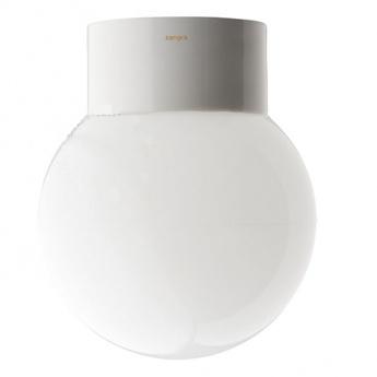 Applique de salle de bain pure porcelaine 06 blanc ip54 o14 5cm h17 5cm zangra normal