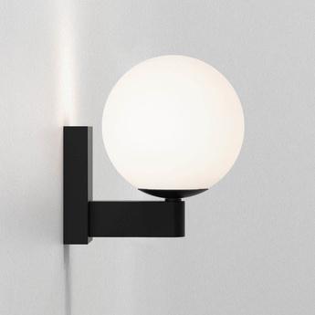 Applique de salle de bain sagara noir mat ip44 l12cm h15 5cm astro lighting normal
