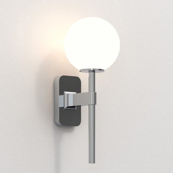 Applique de salle de bain tacoma single chrome poli ip44 l7cm h27cm astro lighting normal