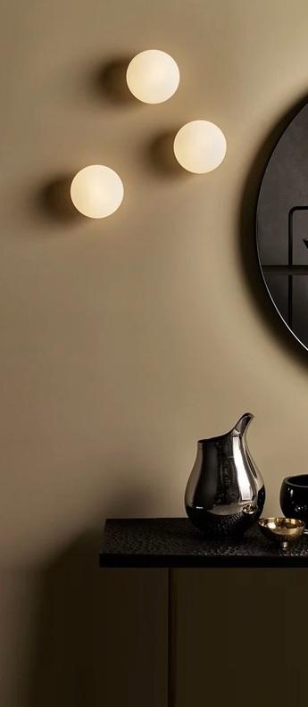 Applique de salle de bain zeppo blanc chrome ip44 l15cm h15cm astro normal