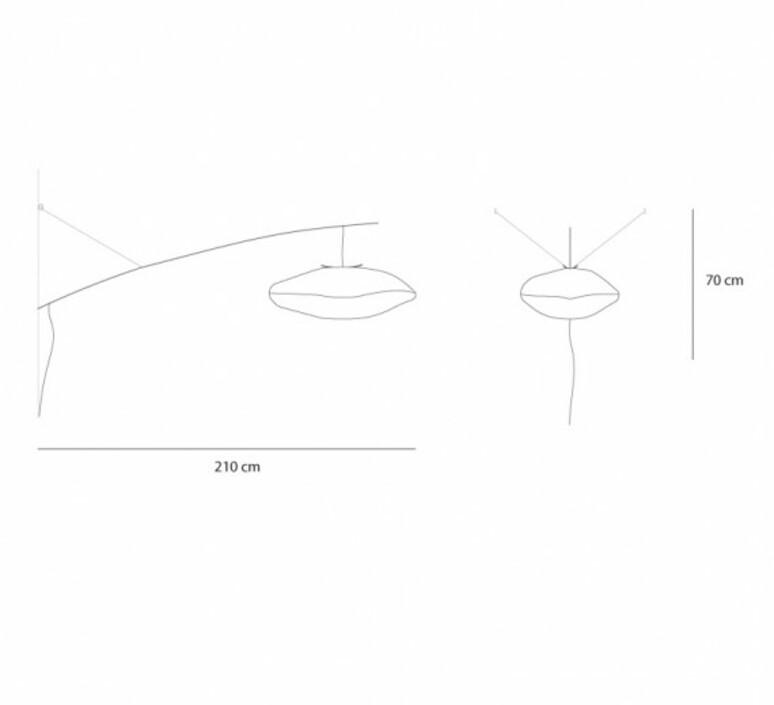 Nuage perche a une branche cumulus celine wright applique murale wall light  celine wright 400 cum 002  design signed nedgis 87493 product