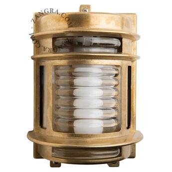 Applique etanche adore l or laiton ip 64 l16cm h22cm zangra normal