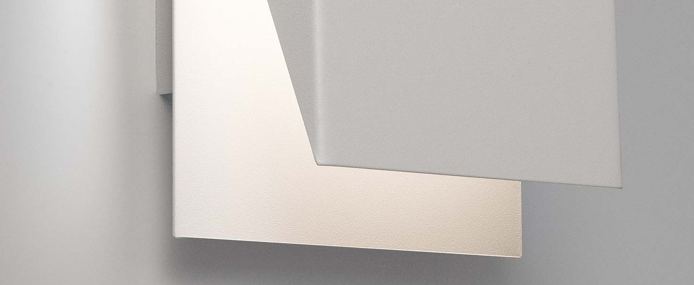 Applique homs blanc h36cm l18cm faro normal