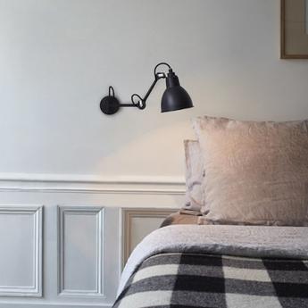 Applique lampe gras 204 noir mat dcw editions normal