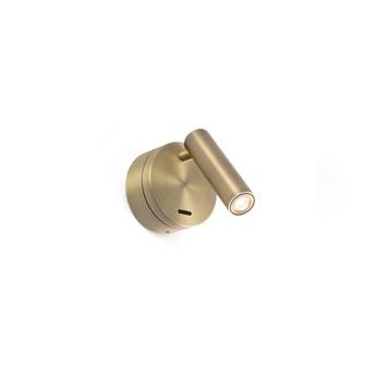 Applique liseuse en saillie boc bronze interrupteur led 3000k 3w h17cm o7 5cm faro copy of 8421776168916 0 normal