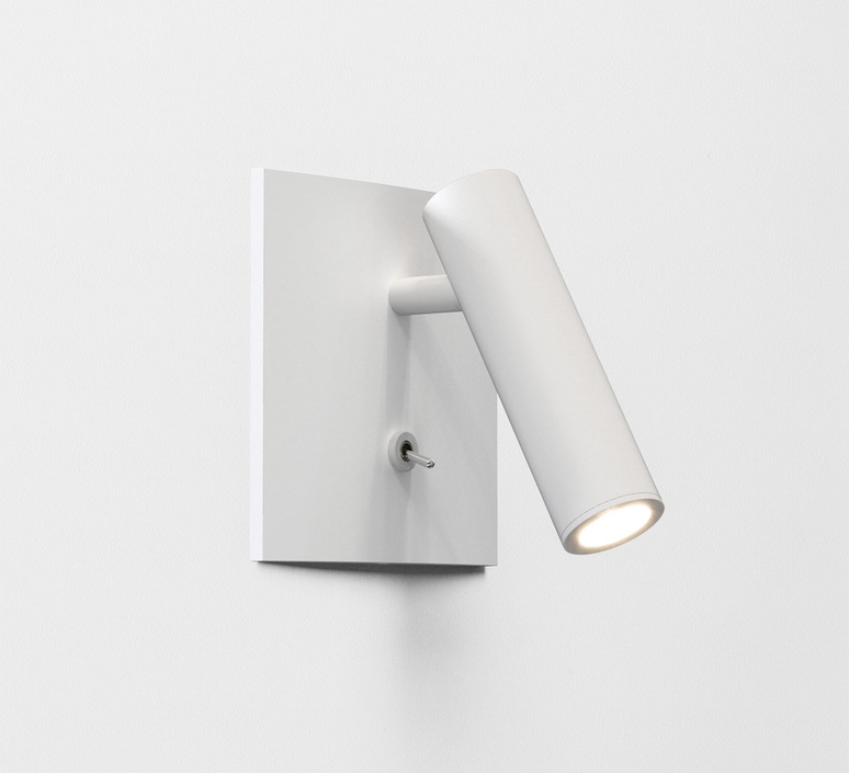 Enna square switched studio astro applique liseuse wall reading light  astro 1058016  design signed nedgis 101847 product