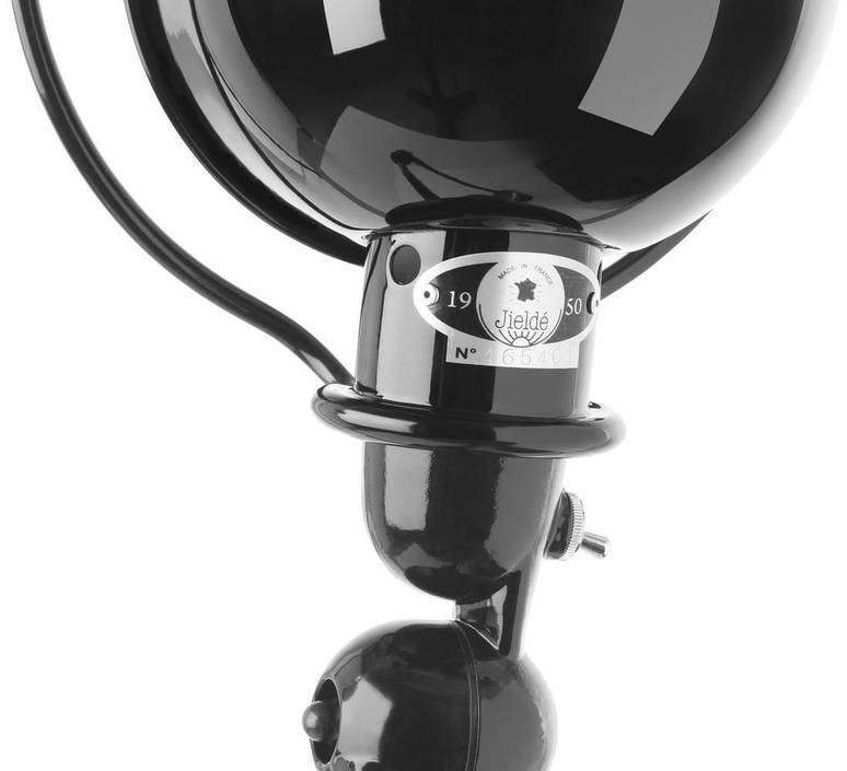 Applique loft noir mat interrupteur 2 bras l40 40cm o15cm cable prise jielde 49528 product