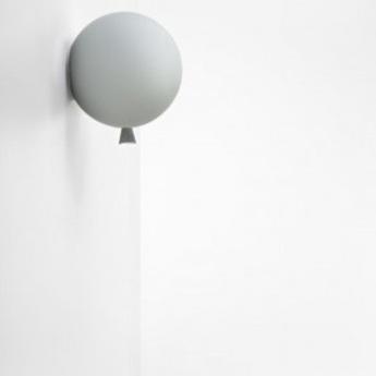 Applique memory ballon gris mat o30cm brokis normal