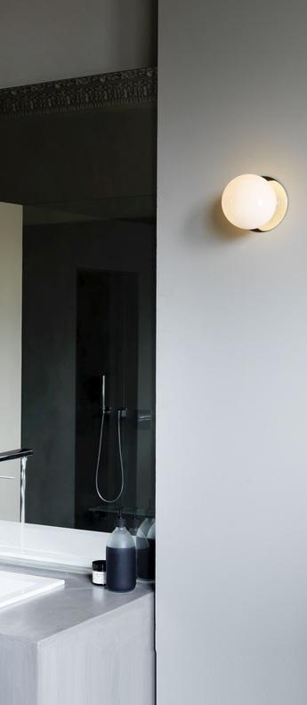 Applique mezzo flush laiton o13cm h12cm ip44 cto lighting normal