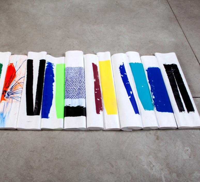 009 naama hofman applique murale wall light  naama hofman 009 bleunoirrouge v  design signed 45242 product