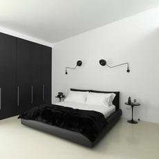 1 bras pivotant courbe serge mouille editionssergemouille ap1bc noir luminaire lighting design signed 20776 thumb