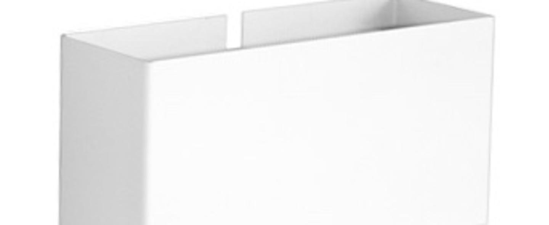 Applique murale 6135 pm blanc l18cm h9cm disderot normal