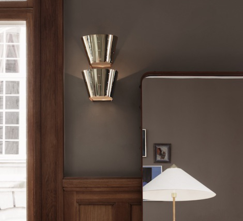 9464 paavo tynell applique murale wall light  gubi 010 04139   design signed 47748 product