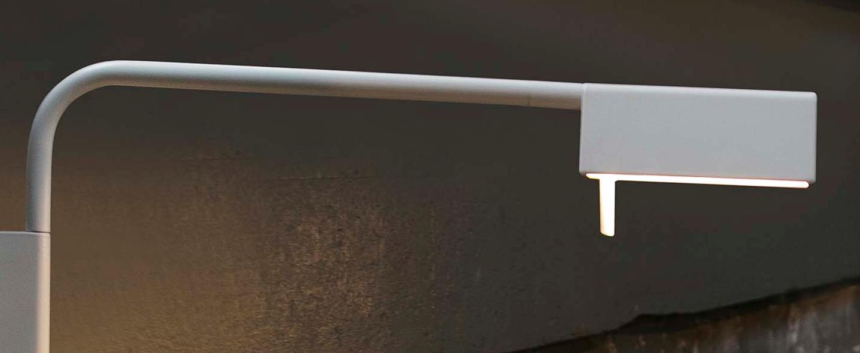 Applique murale academy blanc led h41cm h18 8cm faro normal