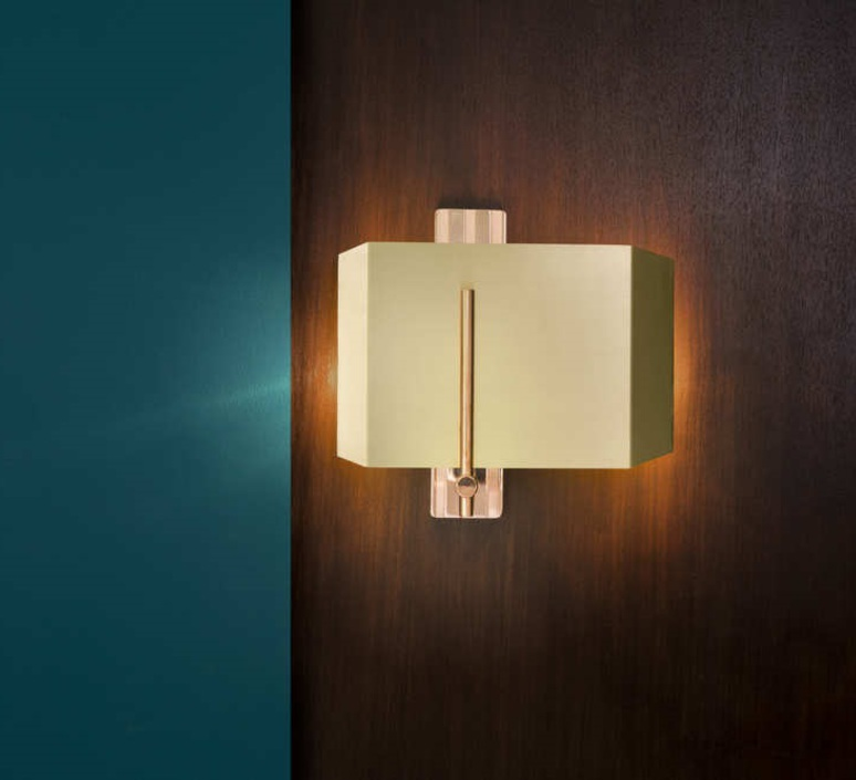 Aegis  applique murale wall light  bert frank aegis wall light copper brass  design signed 36090 product