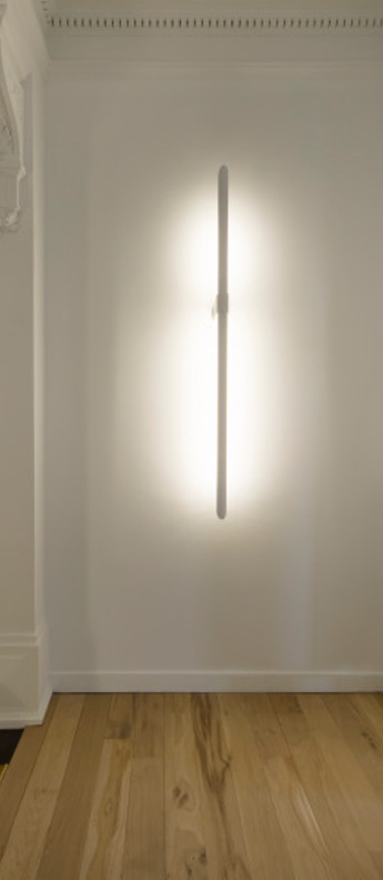 Applique murale aguja or led 3000 k 3300 lm o16cm h115cm dark normal