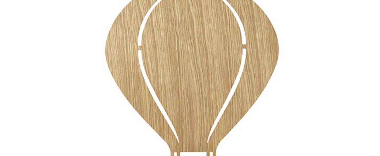 Applique murale air ballon lamp chene l26 5cm h34 5cm ferm living normal
