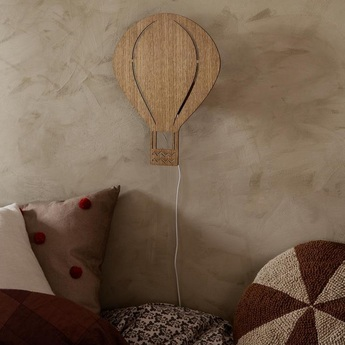 Applique murale air ballon lamp chene l26 5cm h34 5cm ferm living normal