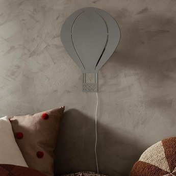 Applique murale air balloon lamp gris led o26 5cm h34 5cm ferm living normal