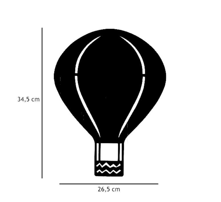 Air balloon lamp  applique murale wall light  ferm living 3229  design signed 36979 product