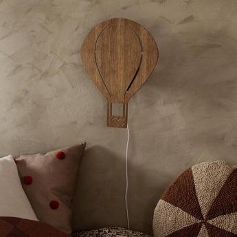 Applique murale air balloon lamp marron led o26 5cm h34 5cm ferm living normal