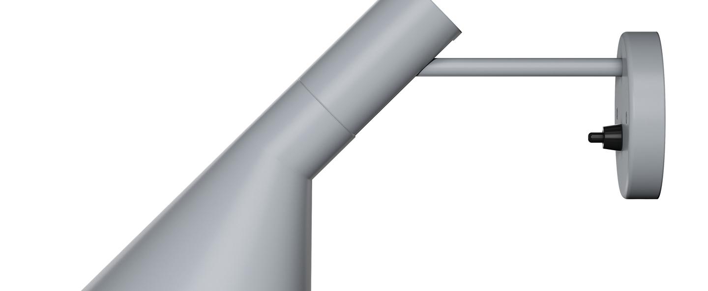 Applique murale aj applique gris souris o31 8cm h18cm louis poulsen normal