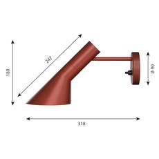 Aj applique  applique murale wall light  louis poulsen 5743160859  design signed 58515 thumb