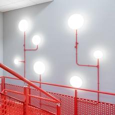 Aj eklipta 350 arne jacobsen applique murale wall light  louis poulsen 5743592207  design signed nedgis 110879 thumb