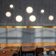 Aj eklipta 350 arne jacobsen applique murale wall light  louis poulsen 5743592207  design signed nedgis 110881 thumb
