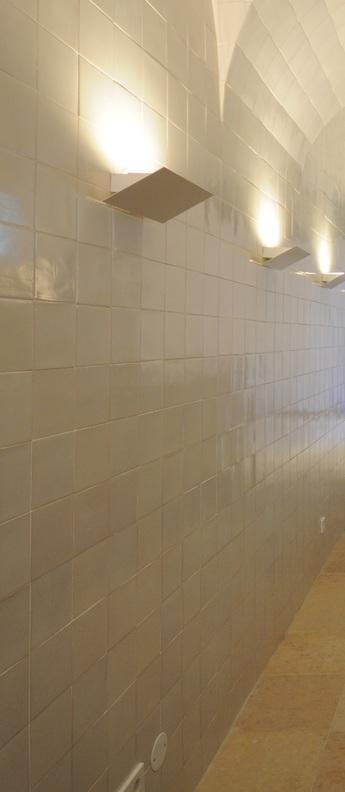Applique murale aleixo led dali 2700k 665lm l30cm h10 8cm dali o m light normal