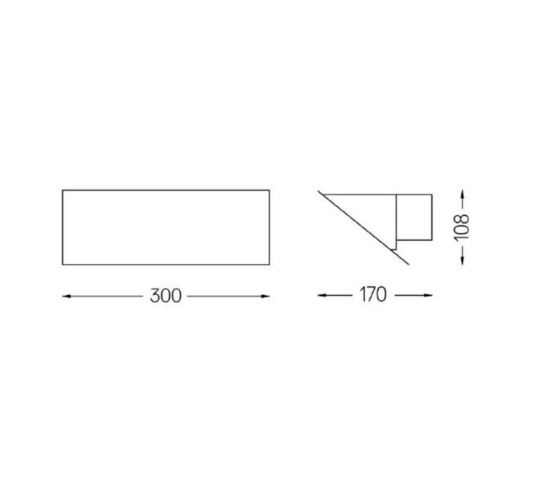 Tubo 50 dali low output studio o m light applique murale wall light  om 43504 25 43701 99  design signed nedgis 83113 product