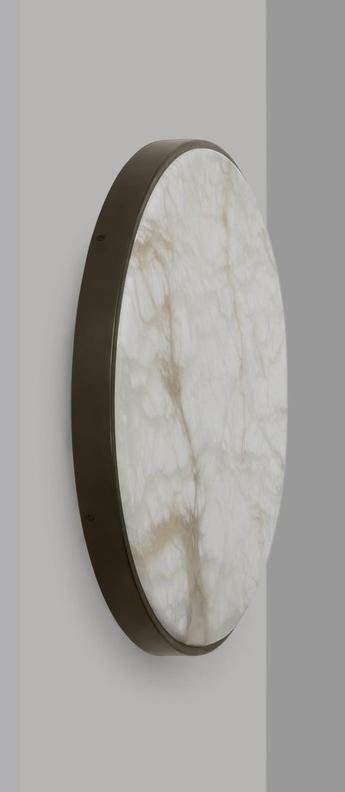 Applique murale anvers large bronze led 3000k o54 5cm h4 9cm cto lighting normal