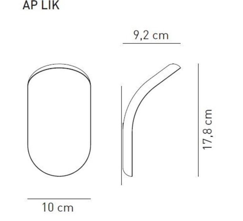 Ap lik serge robert cornelissen applique murale wall light  axo light aplikxxxbc  design signed 41683 product
