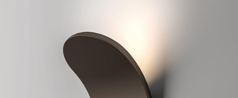Applique murale ap lik noir led l10cm h17 8cm axo light normal