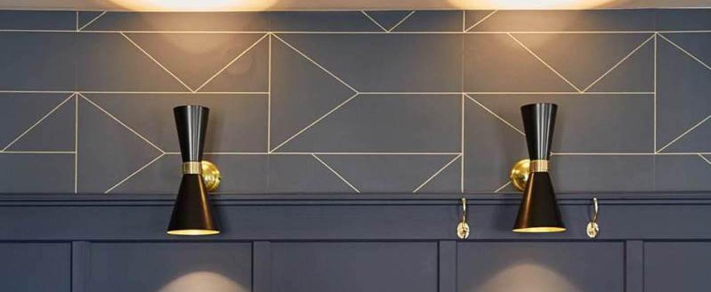 Applique murale applique murale contemporaine cairo noir mat o14cm h33cm mullan lighting normal