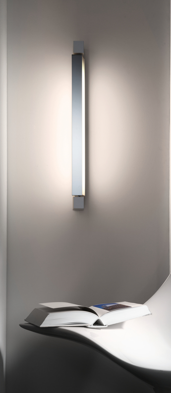 Applique murale ara blanc led 3000k 2100lm ip40 l69cm h11cm nemo lighting normal