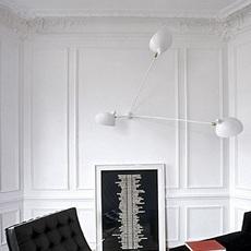 Araignee 3 bras fixes  serge mouille editionssergemouille ar3b noir luminaire lighting design signed 107037 thumb