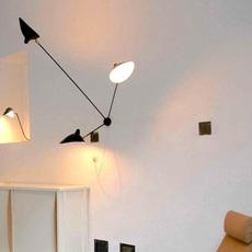 Araignee 3 bras fixes  serge mouille editionssergemouille ar3b noir luminaire lighting design signed 20780 thumb