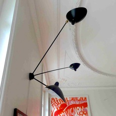 Araignee 3 bras fixes  serge mouille editionssergemouille ar3b noir luminaire lighting design signed 20781 thumb