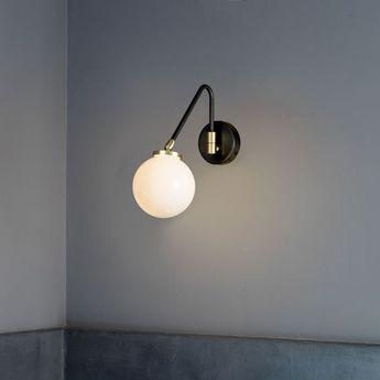 Applique murale array single bronze o12cm h28cm cto lighting normal